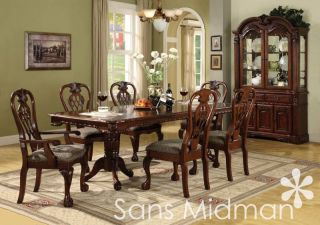 new 12 pc formal dining room set brunswick table 10 chairs china hutch