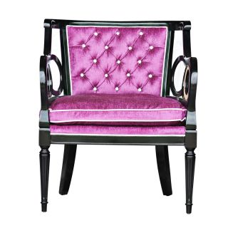coaster round tufted purple swivel chair dining