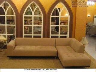 modern fabric upholstered sectional sofa couch set