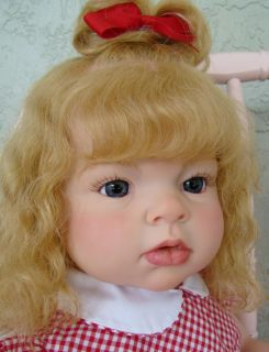 Reborn Arianna Toddler Baby Girl Sculpt by Reva Schick