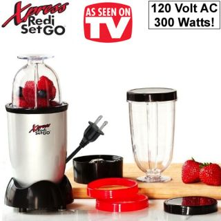 Xpress Redi Set Go Magic Power Mixer Bullet Style Blender as Seen on TV