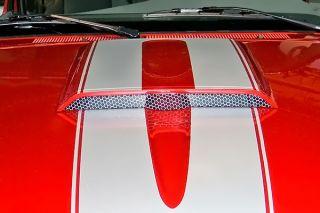3D Carbon 691278 08 10 Ford Ranger Hood Air Scoop Custom Style Car Body Kit