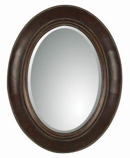 Classic Large Tuscan Dark Walnut Wall Mirror New