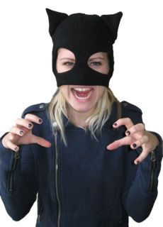 Catwoman Face Mask Half Balaclava Halloween Costume Party Think Geek Batman