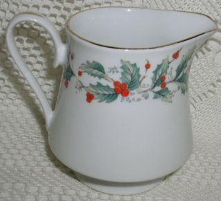 China Pearl Noel Liling China Creamer Lighter Pattern