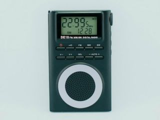 Degen DE19 FM Stereo MW SW DSP World Band Portable Pocket Radio