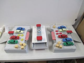 Vintage  Roebuck Exclusive Battery Operated Car Ferry Docks Play Set
