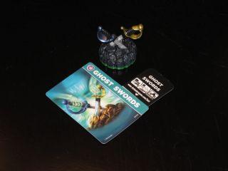 New Spyro's Adventure Skylanders Ghost Swords Figure Code Card Only