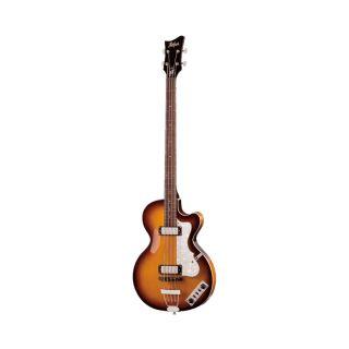 Hofner Club Bass Ignition Sunburst 4 String Electric Bass w Case New