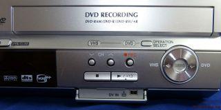 Panasonic DMR ES40V VHS DVD Recorder