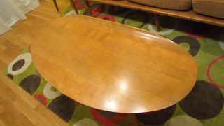 Conant Ball Furniture Mid Century Surfboard Modern 1950s Dining Room Living RARE