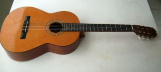 Vintage Classical Acoustic Guitar Made in France 'A' Logo Great Condition