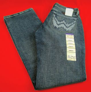 Womens Wrangler Q Baby WRQ20WL Boot Cut Mid Rise Stretch Jeans Any Size