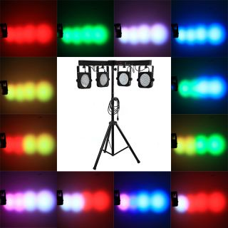 RGB LED Bar Par DMX 512 Stage Lighting Wash Effect Light with Tripod Disco Party