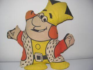Vintage Burger King 1970's Advertising Plush Doll