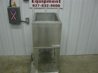 """Lancer 22"""" Stainless Steel Ice Well Chest Bin 8 Circuit Beverage Cold Plate"""