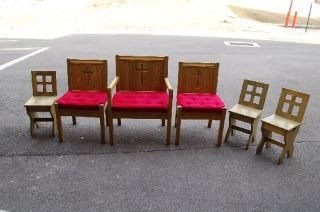Sanctuary Chairs Presider Chair Altar Boy Chairs
