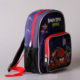 "Rovio Angry Birds Space Planets 10"" Mini Toddler Backpack Boys Girls School Bag"