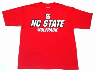 NCAA North Carolina State Wolfpack Red Classic End Zone Men's T Shirt