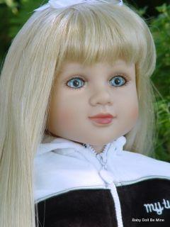 New in Box My Twinn Doll Savannah Light Blue Eyes and Light Blonde Hair