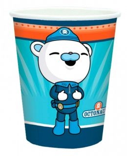 Octonauts Birthday Party Supplies Pack of 8 Paper Cups 266ml