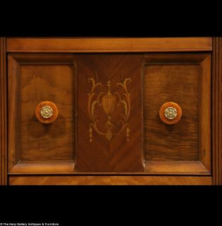 Art Deco Waterfall Combination Closet Desk Dresser