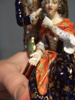 Scarce Early 19thC Derby Porcelain Figure Figurine Lady Hairdresser A F