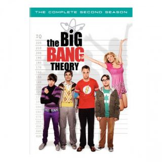 The Big Bang Theory Complete Second Season New 4 DVD DVDs Set