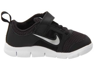 Nike Kids Free Run 3 (Infant/Toddler) Black/White/Wolf Grey/Reflect Silver