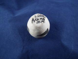 Lucy Lewis Acoma Pueblo Vintage RARE Miniature Pottery Jar Signed by Artist