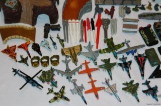 Lot Micro Machines Military Vehicles People Playsets Tanks Airplanes Helicopters
