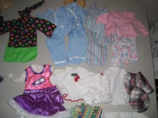 """Huge Lot American Girl 18"""" Our Generation Doll Clothes Dress Mixed Chair Bed"""