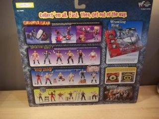 WWE WWF Wrestlemania XV Grapple Gear Commentators Central Playset Jakks 1998