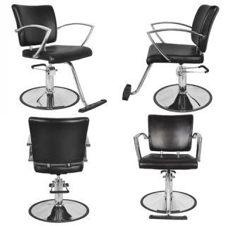 4X New Black Beauty Salon Equipment Hydraulic Styling Barber Chair SC 51BLK