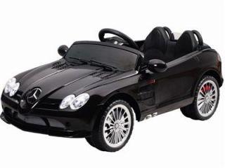 Licensed Mercedes Benz SLR McLaren 722s Kids Ride on Power Wheels Toy Car Black