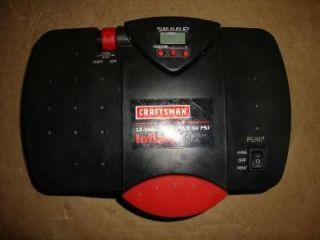 Craftsman 75114 12 Volt Portable Inflator