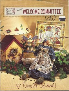 Tole Painting Pattern Book Welcome Committee