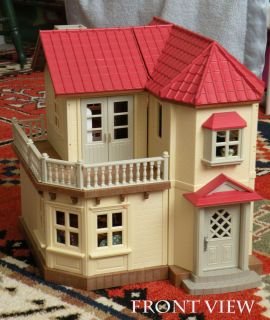 Calico Critters Sylvanian Families Luxury Townhouse Custom Wallpaper Huge Lot