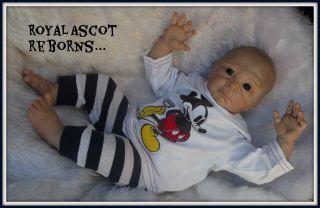 ♥ Irelyn Now Spud Denise Pratt Reborn Fake Baby Boy Doll ♥