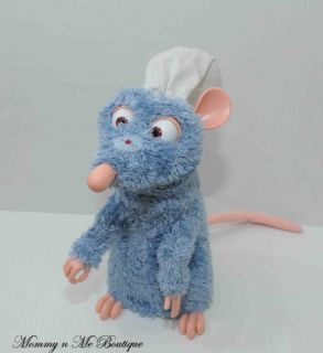 Disney Mattel Ratatouille Remy Interactive Talking Plush Toy