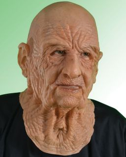 Zagone DOA Old Man Supersoft Latex Mask Unisex Adult Tan One Size
