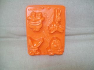 Nickelodeon Jello Molds Krumm Ickis Ren Stimpy