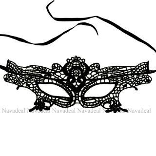 New Sexy Elegant Black Lace Eye Face Mask Masquerade Ball Prom Halloween Costume