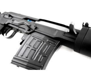 A K Dragunov SVD Romanian PSL Full Metal Airsoft Sniper Rifle Spring Gun w BB