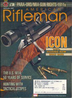 2007 American Rifleman Magazine Thompson Icon Bolt Gun