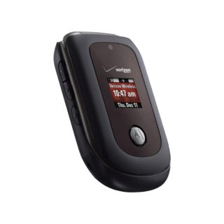 New Motorola VU204 Verizon Wireless Flip Phone with Camera GPS and Bluetooth