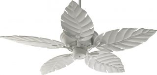 "Quorum 135525 8 Monaco Patio White Outdoor Energy Star 52"" Ceiling Fan"