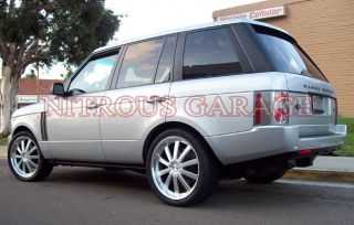 "20"" Ace C853 Executive Wheels Silver BMW x5 x6 Land Range Rover HSE LR2 LR3"