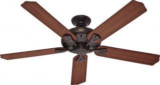 "Hunter 54018 Royal Oak New Bronze Energy Star 60"" Ceiling Fan w Remote Control"