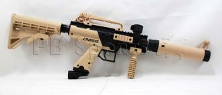 Tippmann Cronus Tan Black Tactical Paintball Gun Semi Auto Marker New Tippman